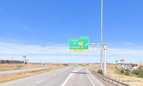 wy interstate i25 wyoming cheyenne information center northbound mile marker 7
