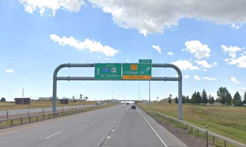 wy interstate i25 wyoming cheyenne information center southbound mile marker 7