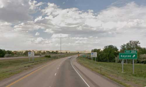 wy interstate i25 wyoming kaycee rest area northbound mile marker 254