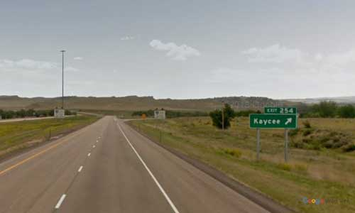 wy interstate i25 wyoming kaycee rest area southbound mile marker 254