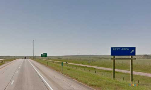 wy interstate i25 wyoming orin junction rest area southbound mile marker 126