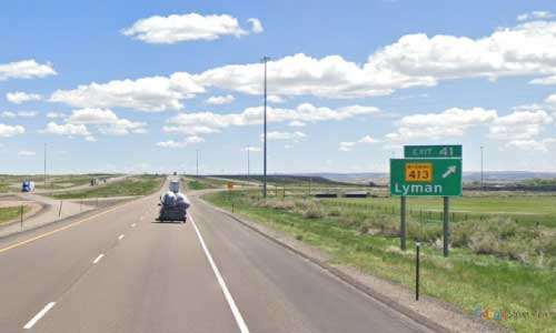 wy interstate i80 wyoming lyman rest area eastbound mile marker 41