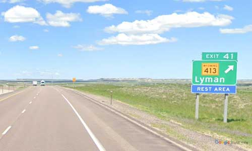 wy interstate i80 wyoming lyman rest area westbound mile marker 41