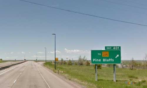 wy interstate i80 wyoming pine bluffs information center westbound mile marker 401
